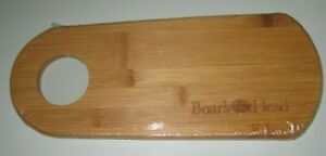 """3 NEW Boar's Head 12"""" Bamboo Cheese/Wine Individual Serving Tray Cutting Board"""