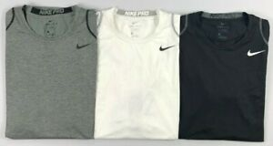 Men's Nike Pro Cool Dri Dry Fit Sleeveless FITTED Shirt