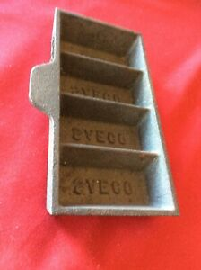 Saeco 4-Cavity Ingot Mold without Handle NOS