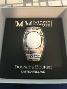 Disney Dooney & Bourke Mickey Mouse 90th Birthday Magicband Magic Band White