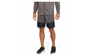 Under Armour Men's MK-1 Terry Shorts  Silt  Brown Black $45 MSRP - NWT