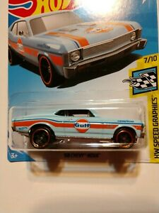 2019 Hot Wheels '68 Chevy Nova HW Lot of 3 NEW on cards