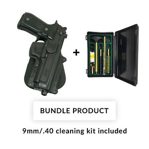 Fobus 360 roto retention BUNDLE paddle holster for beretta 92f  96 without rail