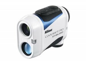 NEW Nikon Golf Laser Distance Meter COOLSHOT PRO STABILIZED from JAPAN