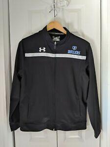 Boys Youth Under Armour Hoodie Sweatshirt Size XL Black Loose $12.00