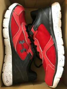 NEW Boy's Under Armour Shoes Size GGS MICRO G ASSERT 6 Red Youth Kids NWOB