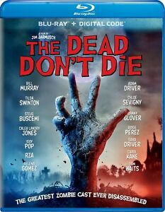 The Dead Dont Die Blu ray Bill Murray NEW $8.99