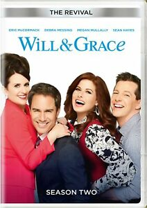 Will and Grace The Revival Season Two DVD Eric McCormack NEW $8.99