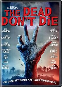 The Dead Dont Die DVD Bill Murray NEW $5.99