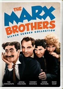 The Marx Brothers Silver Screen Collection DVD NEW $13.49