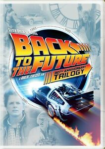 Back to the Future Trilogy DVD Michael J. Fox NEW