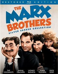 The Marx Brothers Silver Screen Collection Blu ray NEW $29.74