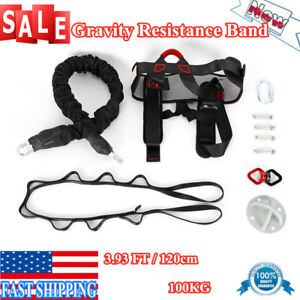 Bungee Resistance Gravity Yoga Band Pilates Pull Rope Gym Yoga Fitness Equipment