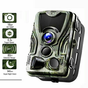 HC801-A 16MP 1080P HD Video Hunting Camera Night Vision 36 LED IR Trail Cam Trap