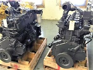 Komatsu S6D125-1 Diesel Engine 0 Miles Non Turbo DYNO Tested.*REMANUFACTURED*