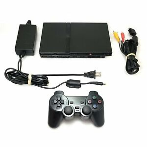 PlayStation 2 PS2 Slim Console System Wireless Controller CLEAN IN/OUT *LIKE NW