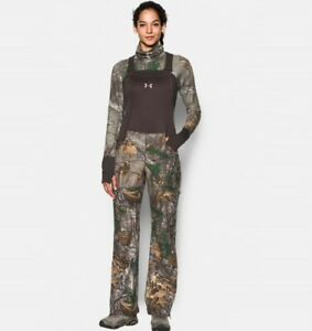 Under Armour Womens Camo Stealth Bib SZ Extra Large Style1282692 946 RealTree