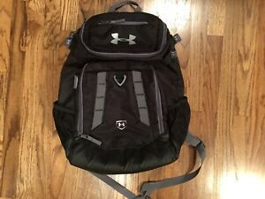 Under Armour Storm BlackGray 20x15x8 Backpack Very Good Condition