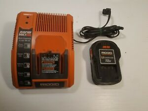 Ridgid Rapid Max Multi Chemistry Li-ion  Ni-cd 9.6v - 18v Battery Charger...
