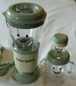 💚 Works - Magic Baby Bullet Blender Parts - Pitcher, 2x Blades And Base