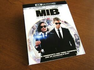 NEW 2019 MIB INTERNATIONAL 4K ULTRA HD BLU-RAY MEN IN BLACK PC MOVIE HEMSWORTH