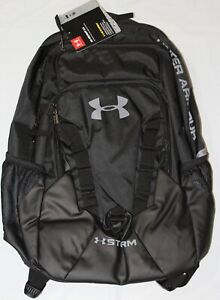 Under Armour UA RECRUIT 2.O STORM WATER RESISTANT BACKPACK, BLACK, 1261825 011 $53.96