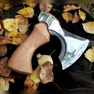 A small hatchet. kitchen axe. gift for men. axes knives. camping gear.