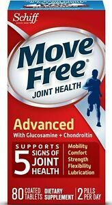 Move Free Advanced, Joint Health Supplement-Glucosamine,Chondroitin 80 ct