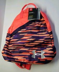 Under Armour Girls Favorite Backpack 3.0 Peach Horizon Purple Switch Laptop Bag