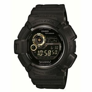 Casio G-Shock Men's Mudman GW-9300GB-1JF Tough Solar Watch NEW