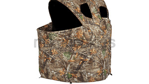 Ameristep Deluxe Two Person Tent Chair Hunting Blind Realtree EDGE