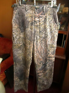 Cabelas Hunting Pants Thin 931765 Jeans Camo 32x30
