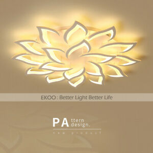 Modern LED lily flower Ceiling Acrylic Home Lights Home Chandelier Lamp