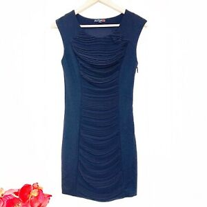 G by Guess front gathered panel body con dress Size Small $24.67