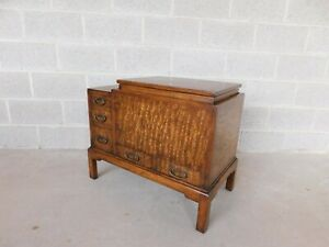 Old Colony Asian Style Silver Chest Server