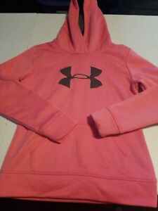UNDER ARMOUR HOODIE GIRLS YOUTH MEDIUM STAIN ON SLEEVE SEE PICS $9.99