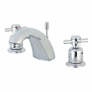 Kingston Brass FB8951DX Mini-Widespread Bathroom Faucet Polished Chrome