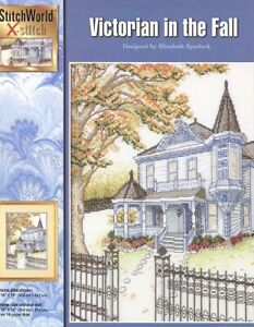 Victorian in the Fall StitchWorld Cross Stitch Pattern Leaflet NEW $3.47