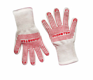 Oven & Grill Gloves, Resistant BBQ Oven Safety Gloves- Food Grade Cook Gloves