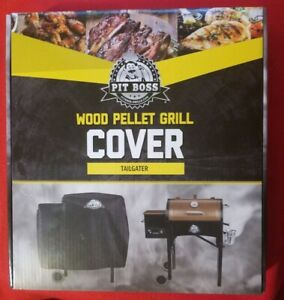 PIT BOSS WOOD PELLET GRILL TAILGATER Heavy Duty cover PolyesterPVC backing NEW