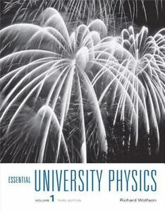 Essential University Physics : Volume 1 by Richard Wolfson (2014, Paperback)