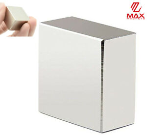 "Max Magnets Super Strong Large 1.5"" Neodymium Large Block 40x40x20 Rare Earth $18.99"