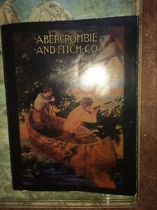 Antique Abercrombie And Fitch Co. Hunting Fishing Catalog Rare