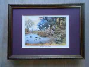 Norman Thelwell Sporting print #x27;Brother Of The Angle#x27; Fishing FRAMED GBP 19.95