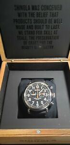 Shinola The Runwell Chrono 47mm Men's Watch