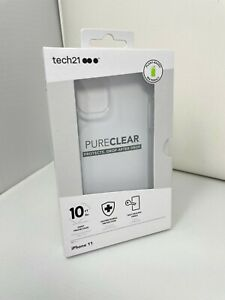Tech21 PureClear Pure Clear Case for iPhone 11 (6.1