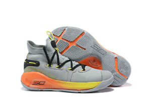 Mens Under Armour Curry 6 Training Basketball Running Shoes Leisure sports shoes