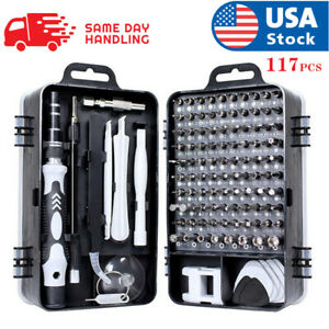 117 In 1 Screwdriver Maintenance Repair Tool Kit Magnetic Electronic Device Tool