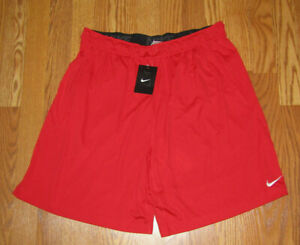 NWT Mens NIKE Red Dri-Fit Active Athletic Shorts Size XXL 2XL