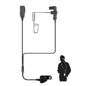 Code Red Investigator M3 Two Wire Lapel Microphone Black - 856420002311